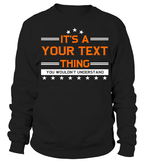 names IT'S A ( YOUR NAME ) THING HOODIES