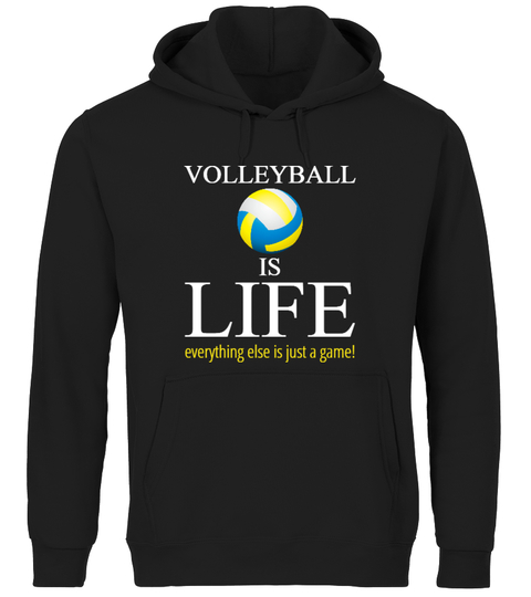 entertainment - other Volleyball Is Life - Premium HOODIES