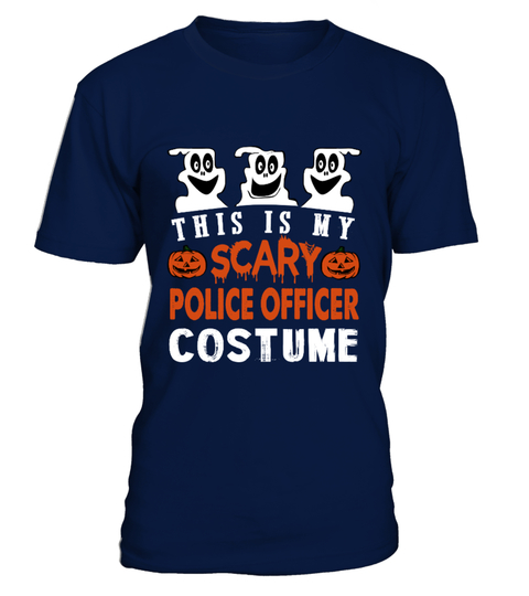 jobs - engineer This is My Scary Police officer Costume HOODIES